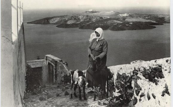 Santorini in the mid-1920s
