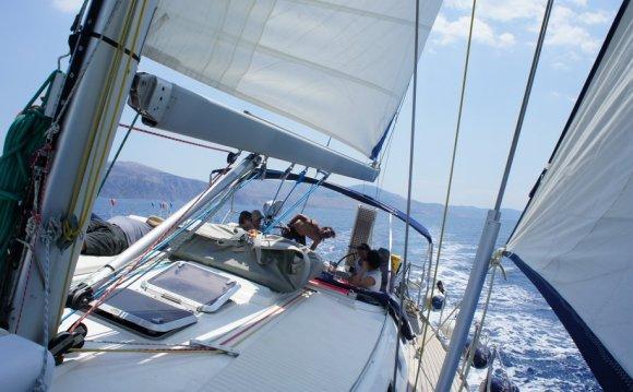 Sailing Greek islands - Greece