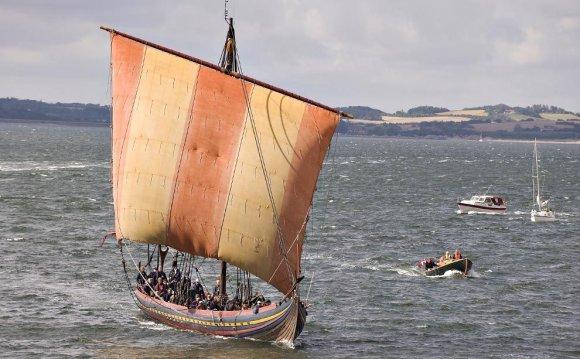Sailing Traditional Greek Ship