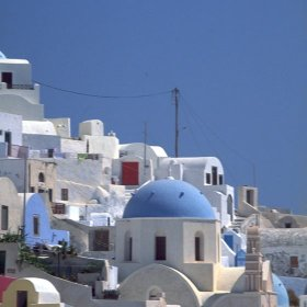 The Greek Islands host a year-round cruise industry.