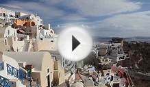(Nature Relaxation Video) Greek Islands Santorini Extended