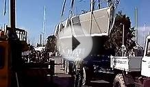 Yacht Charter Greece/Kavas Yachting - Launching of boat